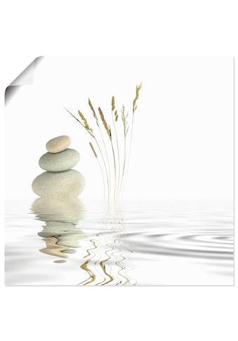 Artland Wandbild »Zen Friede«, Zen, (1 St.), in vielen Größen & Produktarten - Alubild... kaufen