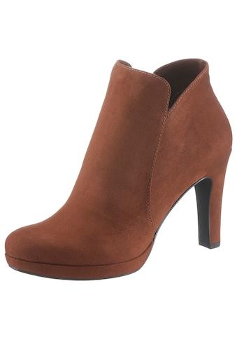 Tamaris High-Heel-Stiefelette, im femininen Look kaufen