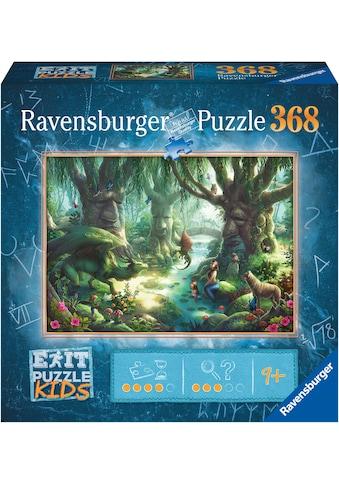 Ravensburger Puzzle »EXIT Kids Der magische Wald«, FSC® - schützt Wald - weltweit;... kaufen