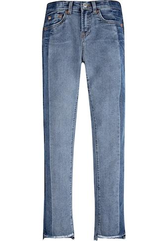Levi's Kidswear Stretch-Jeans »GIRLFRIEND«, mit leicht ausgefranstem Saum kaufen