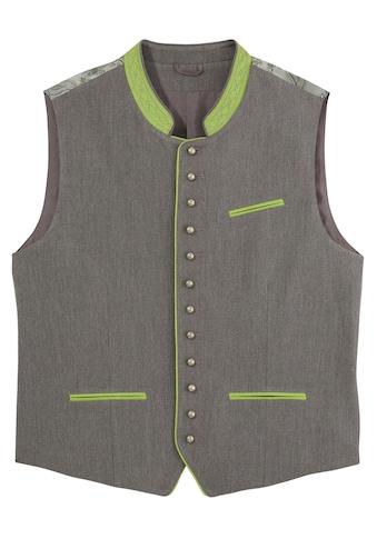 Naber Collection Trachtenweste, mit kontrastfarbenen Taschen kaufen