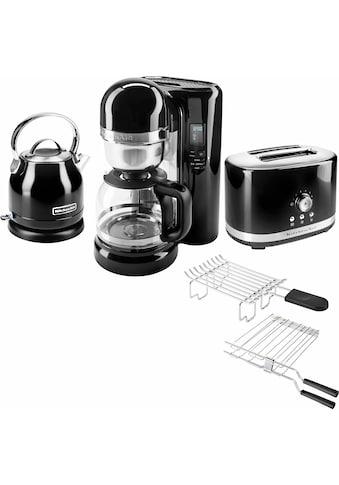 KitchenAid Frühstücks-Set »3-teilig«, Onyx Schwarz kaufen