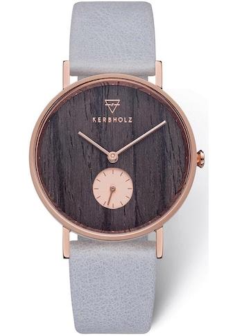 KERBHOLZ Quarzuhr »Frida Darkwood / Arctic, WATMFRI0135«, mit kleiner Sekunde kaufen