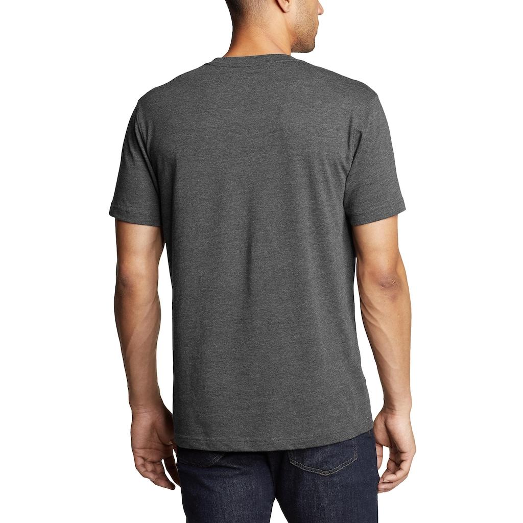 Eddie Bauer T-Shirt, Legend Wash Pro - Kurzarm mit V-Ausschnitt