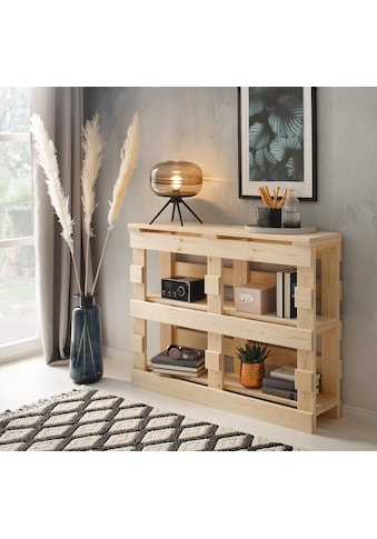 Home affaire Konsolentisch »Pinus«, im angesagten Palettendesign kaufen