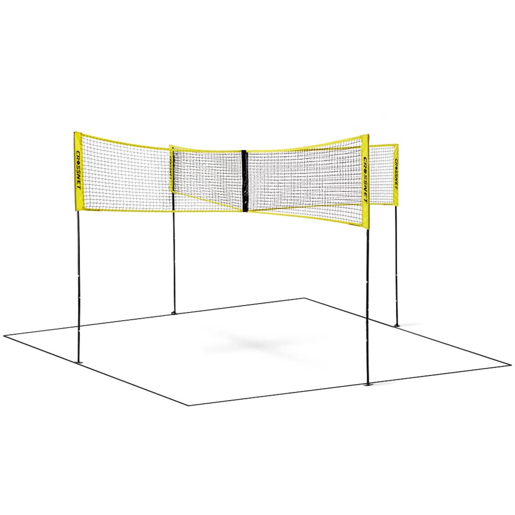 Crossnet distributed by Hammer Volleyballnetz »und Beachballnetz Crossnet«, mit Transporttasche (Rucksack)