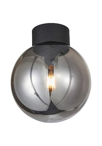 Brilliant Leuchten Astro Deckenleuchte 25cm schwarz/rauchglas kaufen