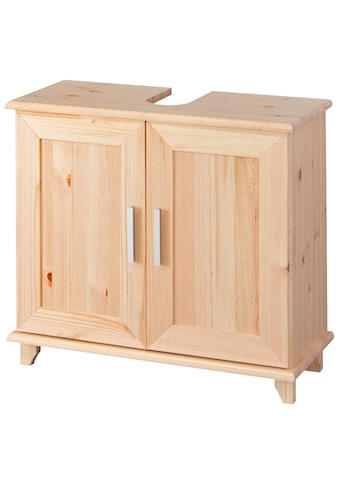 welltime Waschbeckenunterschrank »Rügen«, Breite 67 cm, aus Massivholz kaufen