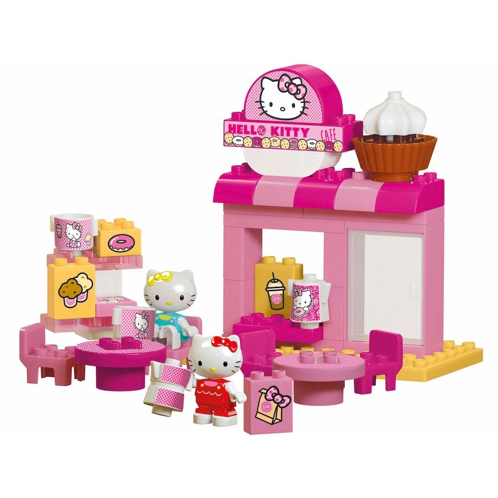BIG Spielbausteine »BIG-Bloxx Hello Kitty Café«, (45 St.)