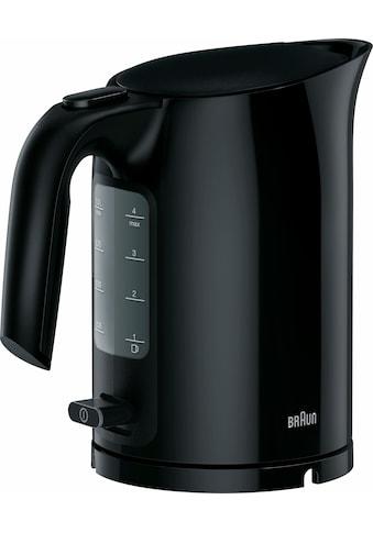 Braun Wasserkocher »WK 3000 BK«, 1 l, 2200 W kaufen