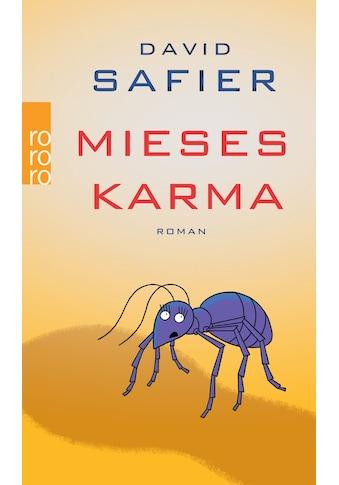Buch »Mieses Karma / David Safier« kaufen