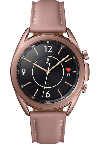 "Samsung Smartwatch »Galaxy Watch 3, Edelstahl, 41 mm, Bluetooth (SM-R850)« (3 cm/1,2 "", Android Wear kaufen"