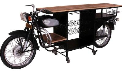 SIT Bartisch »This&That«, aus alten indischen Motorrädern gefertigt kaufen