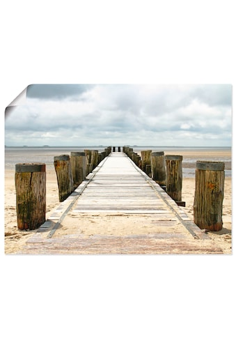 Artland Wandbild »Steg ins Watt« kaufen