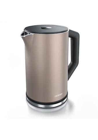 Arendo Wasserkocher »ELEGANT 1,5 Liter - Beige«, 1.5 l, 2200 W, mit Temperatureinstellung kaufen