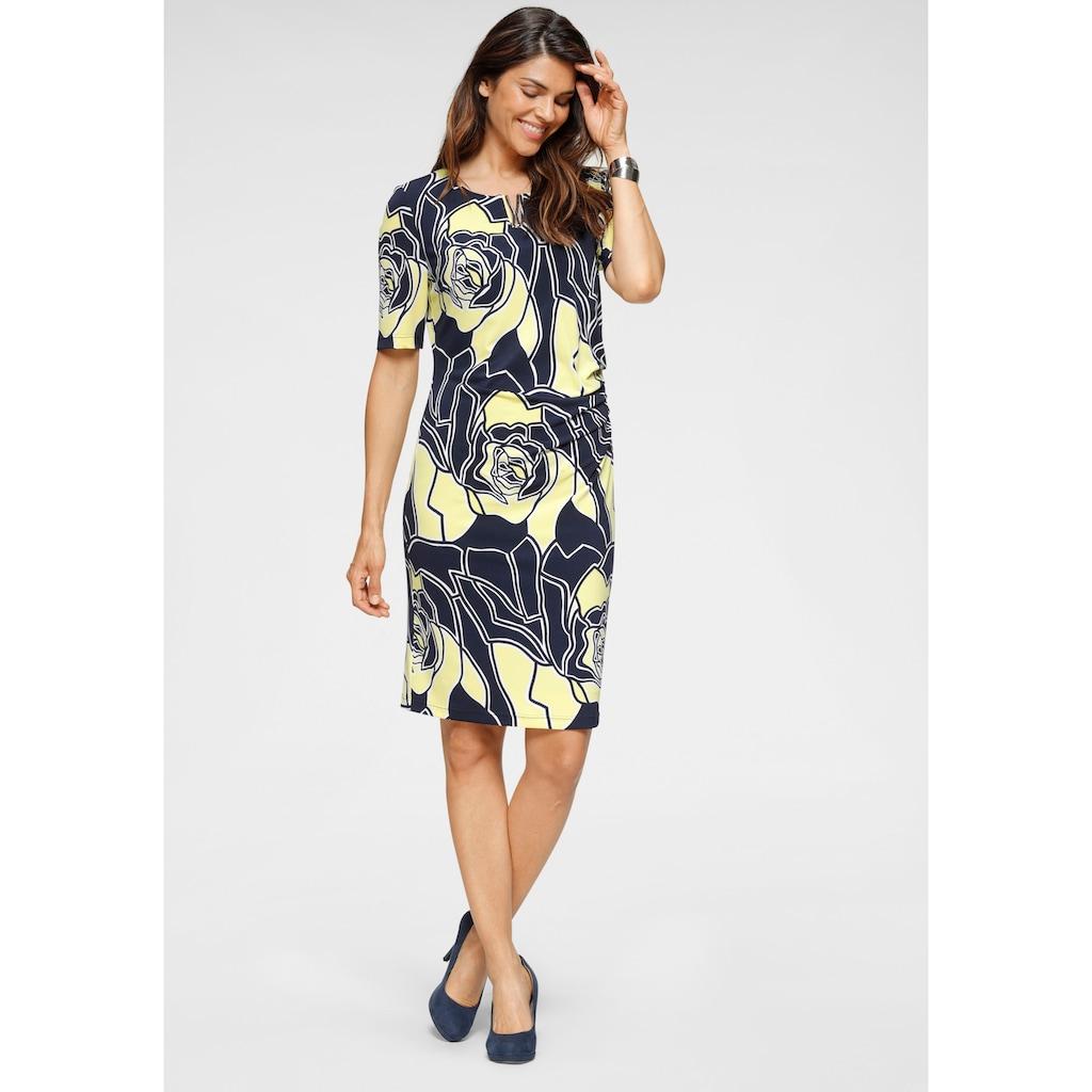 HERMANN LANGE Collection Jerseykleid, in schlichter Form mit tollem Blumen-Allover-Druck