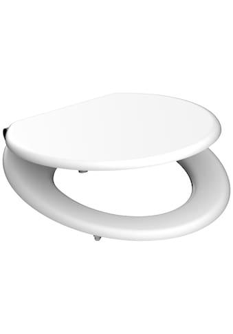 Schütte WC-Sitz »MDF WC- Sitz mit Holzkern & Absenkautomatik«, mit Absenkautomatik kaufen
