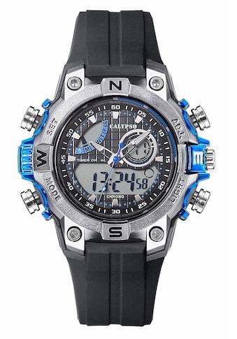 CALYPSO WATCHES Chronograph »K5586/2«, 3 Zeiger davon 2 Leuchtzeiger kaufen