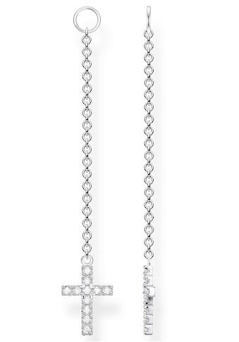 THOMAS SABO Einhänger für Ohrschmuck »Kreuz, EP009-051-14«, mit Zirkonia kaufen