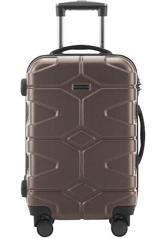"Hauptstadtkoffer Hartschalen - Trolley ""X - Kölln, 55 cm"", 4 Rollen kaufen"