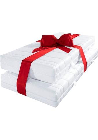 BeCo EXCLUSIV Komfortschaummatratze »November KS«, (Set, 2 St., 2-tlg.), elastisch, universell und bequemes Handling kaufen