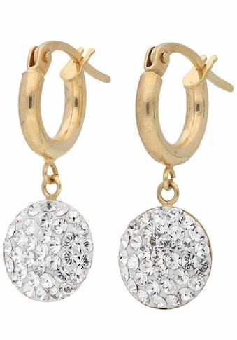 Firetti Paar Creolen, mit Swarovski® Kristallen kaufen