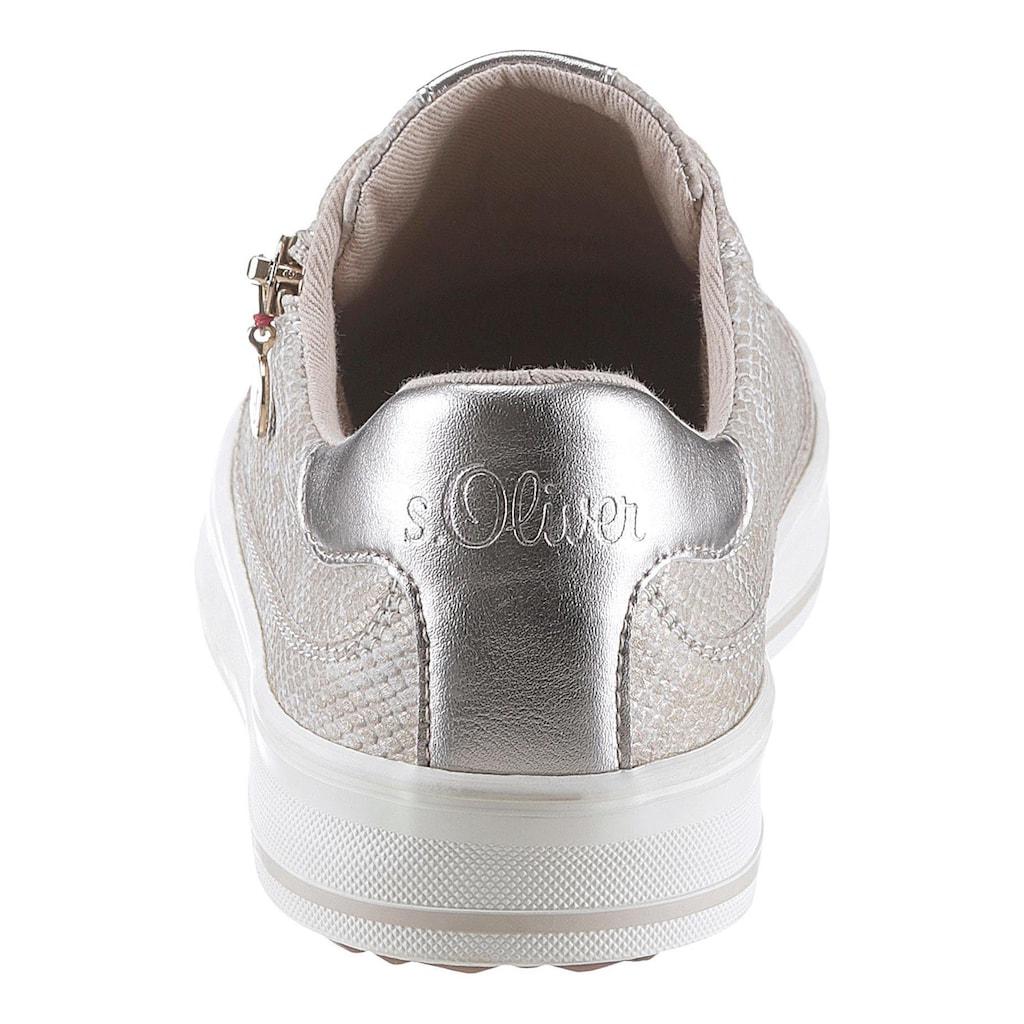 s.Oliver Sneaker, mit Soft-Foam-Ausstattung