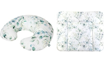 Rotho Babydesign Wickelauflage »Natural Leaves«, inklusive Stillkissen Mini; Made in... kaufen