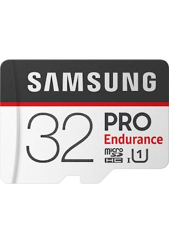Samsung Speicherkarte »PRO Endurance microSD 32 GB«, ( UHS Class 1 100 MB/s... kaufen