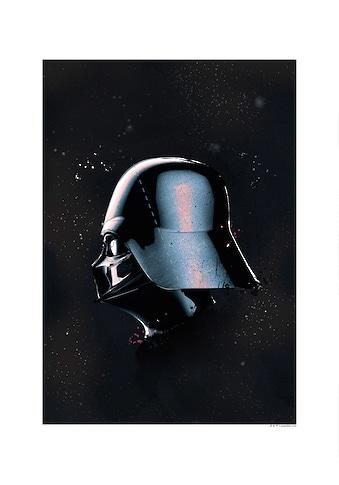 Komar Poster »Star Wars Classic Helmets Vader«, Star Wars kaufen