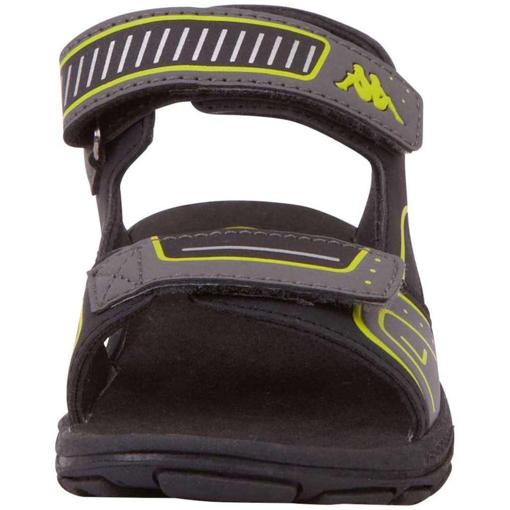 Kappa Sandale »PAXOS KIDS«, mit zwei praktischen Klettverschl&uuml;ssen<br />
