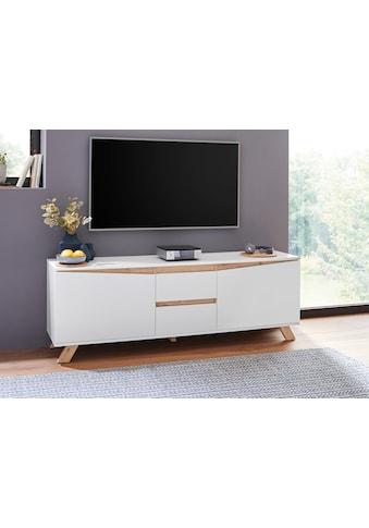 Homexperts TV-Board »Vicky«, Breite 160 cm, in matt weiß kaufen