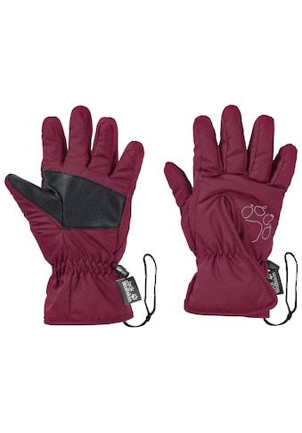 Jack Wolfskin Skihandschuhe »EASY ENTRY GLOVE KIDS« kaufen