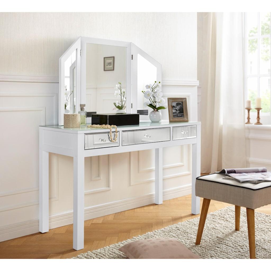 Guido Maria Kretschmer Home&Living Schminktisch, mit verspiegelten Schubladen