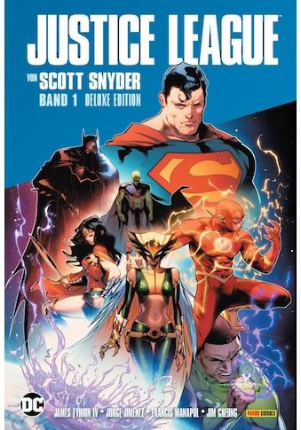 Buch »Justice League von Scott Snyder (Deluxe-Edition) / Scott Snyder, James Tynion... kaufen