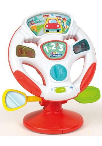 Clementoni® Lernspielzeug, »Baby, Aktivitäts - Lenkrad« kaufen