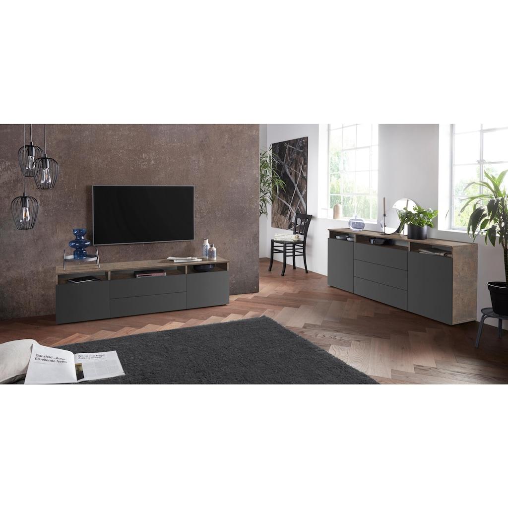 borchardt Möbel Lowboard »Melbourne«, Breite 166 cm