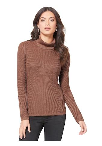 Creation L Pullover mit Glanzgarn kaufen