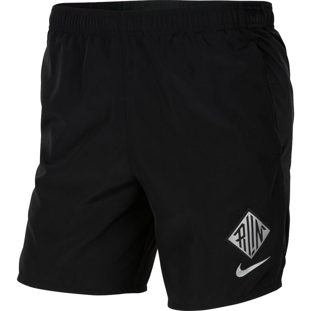 Nike Laufshorts »Challanger Short Wr Gx Running Short«, DRI-FIT Technologie