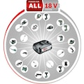 BOSCH Schlagbohrmaschine »AdvancedImpact 18«, QuickSnap, inkl. 1 Akku