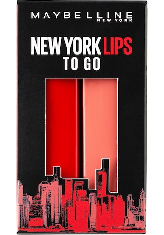 MAYBELLINE NEW YORK Lippenstift-Set »Made for All«, Nr. 373 Mauve for me und Nr. 385... kaufen