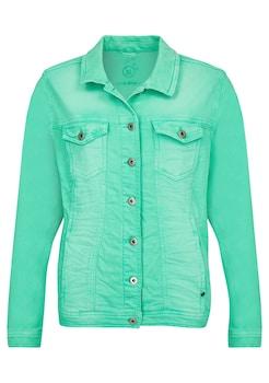 2654bb5727a0 VIA APPIA DUE Moderne Jeans - Jacke mit figurformenden Nähten kaufen