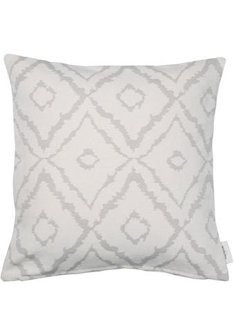 TOM TAILOR Kissenbezug »Big Squares«, (1 St.), mit Ikat-Muster kaufen