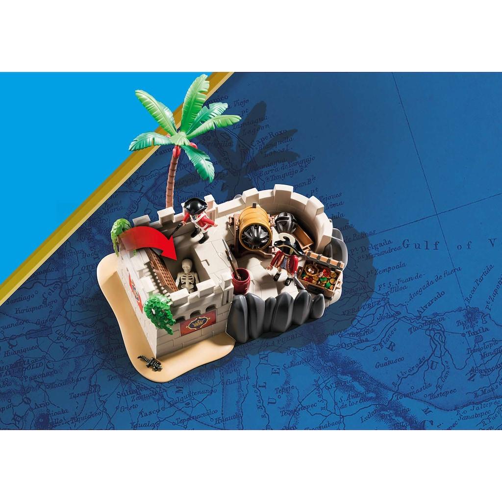 Playmobil® Konstruktions-Spielset »Rotrockbastion (70413), Pirates«, (101 St.), Made in Germany