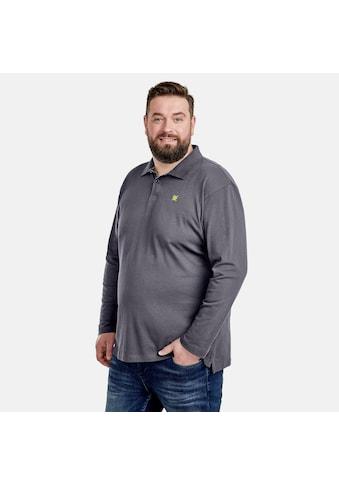 LERROS Poloshirt »Piqué«, langarm, in Großen Größen kaufen