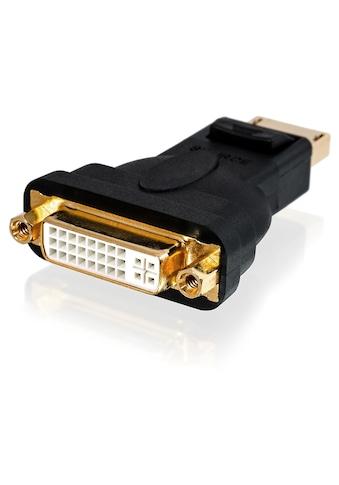 CSL Full HD DisplayPort zu DVI Video Adapter »DVI-I Buchse zu DisplayPort Stecker« kaufen
