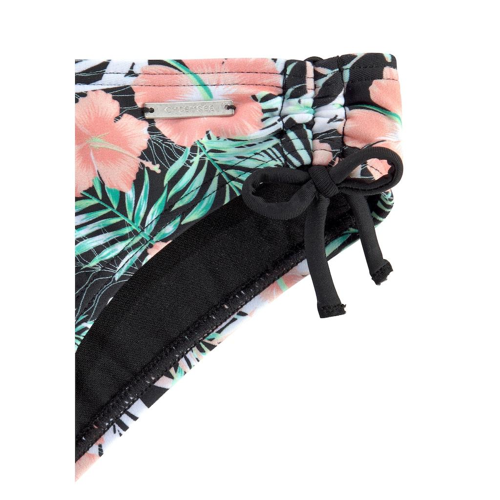 Chiemsee Triangel-Bikini, mit floralem Design