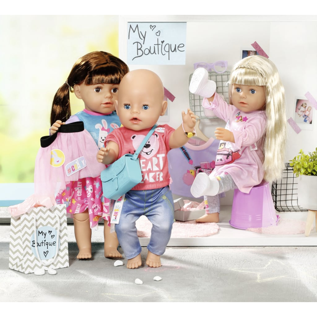 Baby Born Puppenkleidung »City Fashion«, (Set, 12 tlg.)