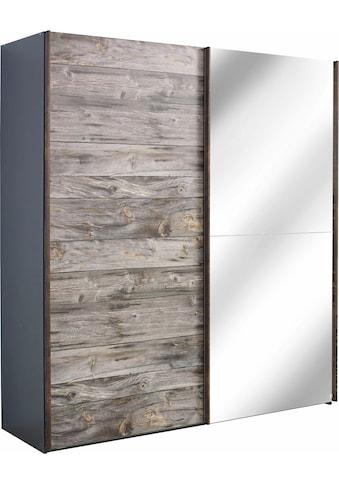 rauch ORANGE Schwebetürenschrank »Timberstyle«, mit Spiegeltür kaufen