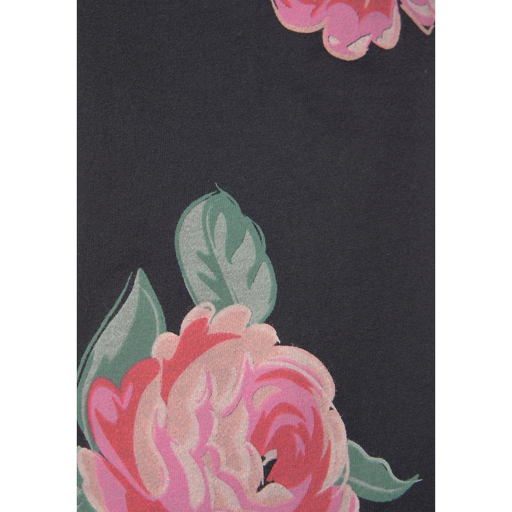 Vivance Dreams Nachthemd, in klassischer Form mit Blumenprint